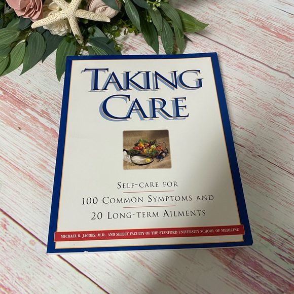 Taking Care Self Care Book